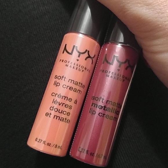 Nyx Makeup Soft Matte Lip Cream Madrid Kyoto Poshmark